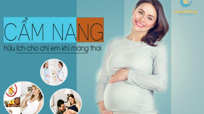 Cẩm nang hữu ích cho chị em phụ nữ khi mang thai