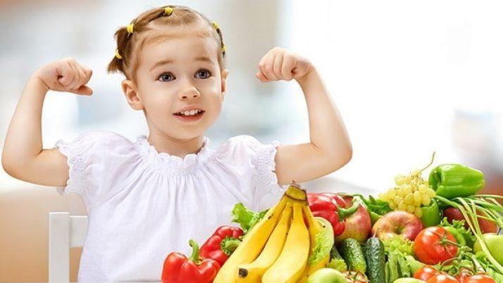 Những thực phẩm giúp tăng cường hệ miễn dịch cho trẻ